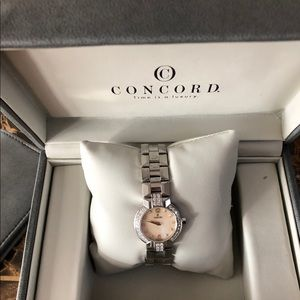 Authentic Diamond concord watch